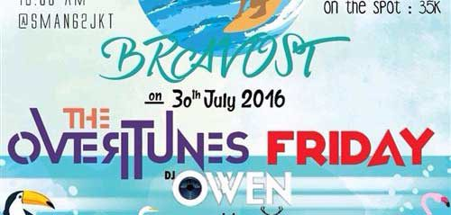 The Overtunes & DJ Owen Hibur The Most Bravo SMAN 62 Jakarta