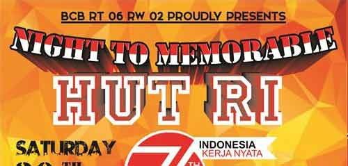 Musik Rap & Beatbox Meriahkan Night To Memorable Hut RI Ke 71