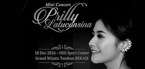 Prilly Latuconsina Bikin Mini Concert Buat Para Penggemarnya