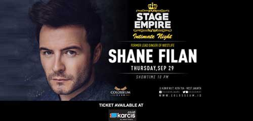 Stage Empire With Shane Filan di Colosseum Club