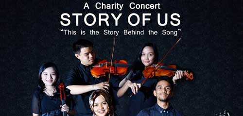A Charity Concert Story of Us Persembahkan Lagu Top Billboard