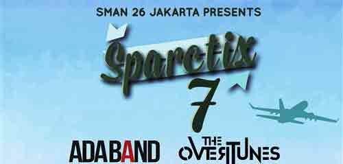 The Overtunes Meriahkan SPARCTIX 7 SMAN 26