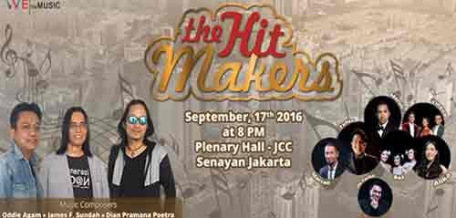 Kolaborasi Penyanyi Senior & Junior di The Hit Makers Concert Jakarta 2016