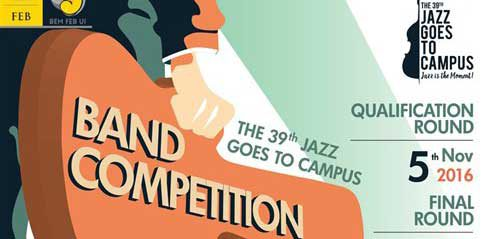 Rebut Hadiah Jutaan Rupiah di The 39th Jazz Goes To Campus Band Competition