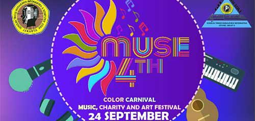 Semarak Muse 4th Color Carnival Bersama Sheriff And Gun