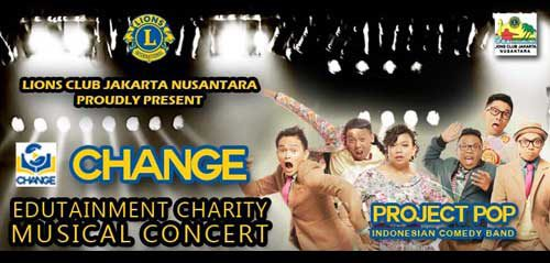 Edutainment Charity Musical Concert Bersama Project Pop & James Gwee