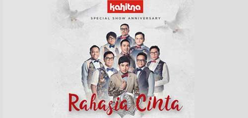 Kahitna Super Show Anniversary Rahasia Cinta di Medan