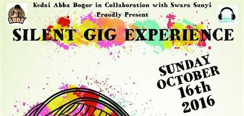 Silent Gig Experience 2016 Diramaikan Oleh By The Way Band & 374 Project