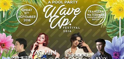"A Pool Party ""Wave Up! Festival 2016"" di Transera Waterpark"