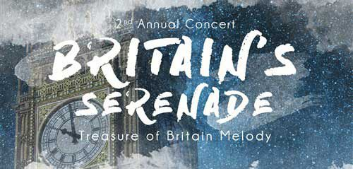 Concert Britain's Serenade Sajikan Treasure Britain Melody