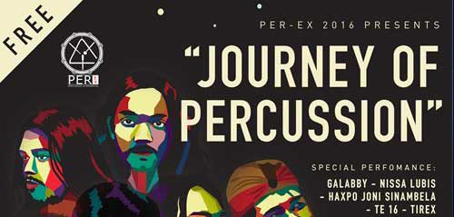 Journey of Percussion di Taman Ismail Marzuki Jakarta
