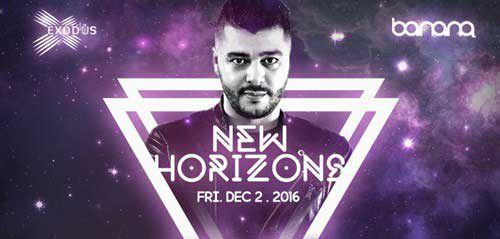 New Horizons, Reconstruction Of A State Of Trance 650 di Exodus Jakarta