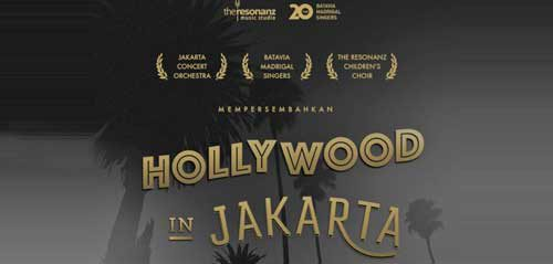 Persembahan Lagu-lagu Soundtrack Film Hollywood di Hollywood in Jakarta Concert