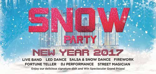 Live Band Performance di Snow Party New Year