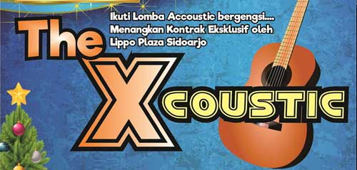 Lomba Akustik di The Xcoustic Colorful Christmas