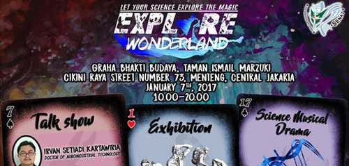 Nikmati Science Musical Drama di Explore Wonderland
