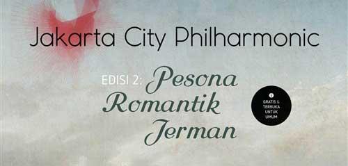 Nikmati Pesona Romantik Jerman di Jakarta City Philharmonic