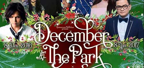 Raisa & Hedi Yunus Ramaikan December at the Park