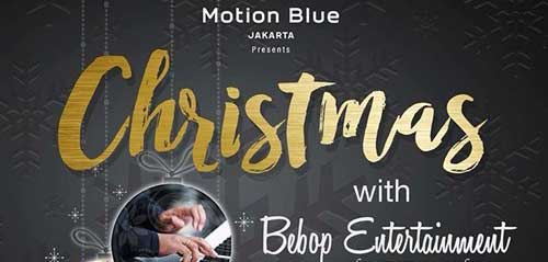 Rayakan Christmas with Bebop Entertainment