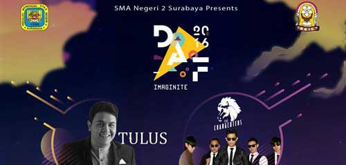 Tulus, Ran & The Changcuters Bintang Tamu SMADAF 2016