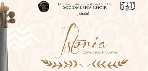 Istoria Voyage For Harmony Persembahan dari Sociomusica Choir