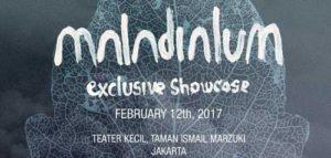 Maladialum Exclusive Showcase di Taman Ismail Marzuki