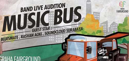 """Bluesmate Tampil di Band Live Audition """"Music Bus"""""""
