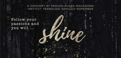 ITS Student Choir Gelar Shine Concert