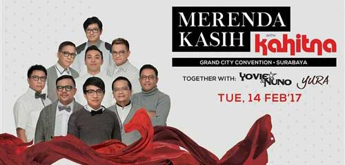 Kahitna Merenda Kasih di Grand City Convention Surabaya