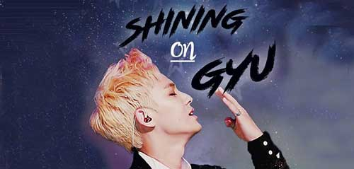 Memperingati HUT Kim Mingyu di Shining On Gyu