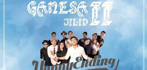 Music Performance oleh Happy Ending di GANESA Jilid II