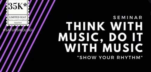 Seminar Musik Think with Music, Do it with Music
