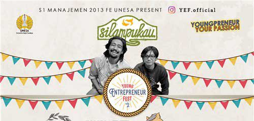 Silampukau Guest Star di Young Entrepeneur Fest #2