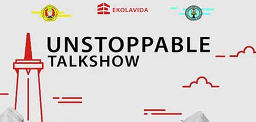 Talkshow Kreatif Bersama Erix Soekamti di Unstoppable