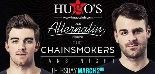 The Chainsmokers Gelar Fans Night di Hugos