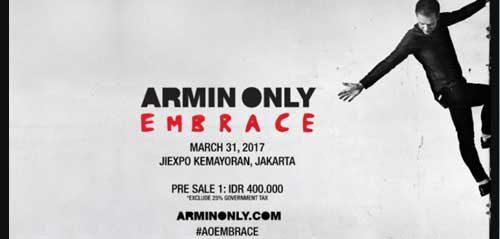 Armin Only Embrace di JI-Expo Kemayoran