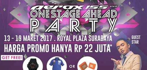 DJ Dipha Barus Meriahkan One Stage Ahead Party