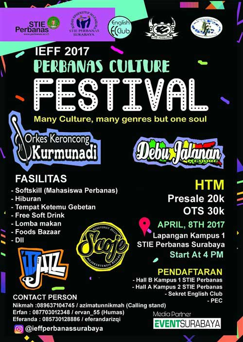 Perbanas Culture Festival 2017