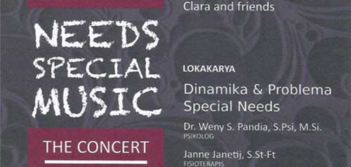 Needs Special Music The Concert di TIM Jakarta