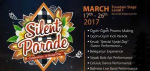 Nikmati Balinese Music di Silent Parade