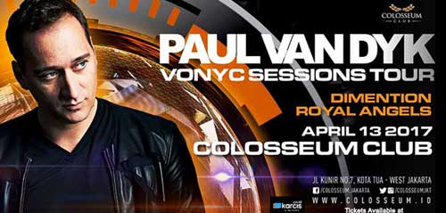 Vonyc Session Tour Paul Van Dyk di Indonesia