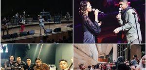 Rayakan 20 Tahun Berkarya, Ungu Konser di Singapura