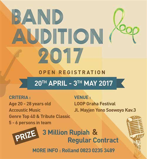 Band Audition 2017