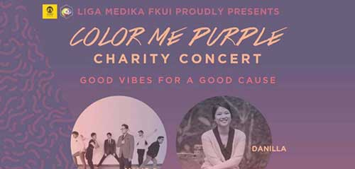 Maliq & d'Essentials di Konser Amal Color Me Purple