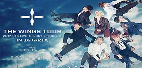 Konser BTS Live Trilogy Episode III The Wings Tour di ICE-BSD