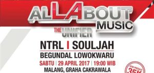 Musik Reggae Souljah Hadir di All About The Unifier