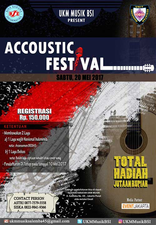 Accoustic Festival 2017