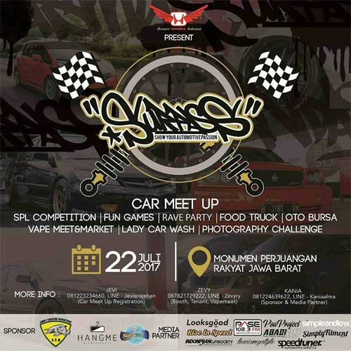 Ada Rave Party Di Acara Show Your Automotive Passion 2017