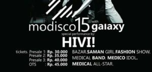 Hivi! Meriahkan Modisco 15 with Galaxy