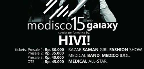 Hivi! Meriahkan Modisco 15 with Galaxy